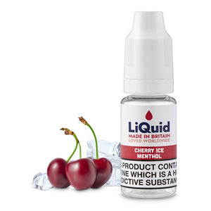 Cherry Ice Menthol E-Liquid onepoundeliquid