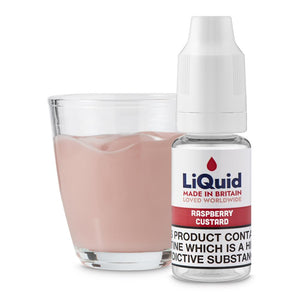 Raspberry Custard E-Liquid onepoundeliquid