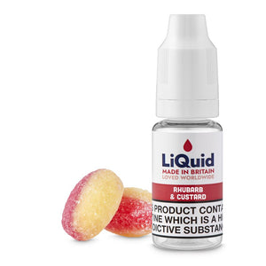 Rhubarb & Custard E-Liquid onepoundeliquid