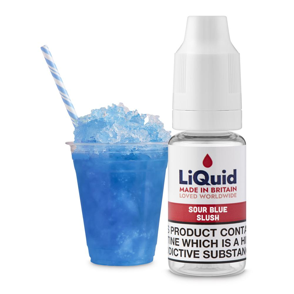 Sour Blue Slush E-Liquid onepoundeliquid