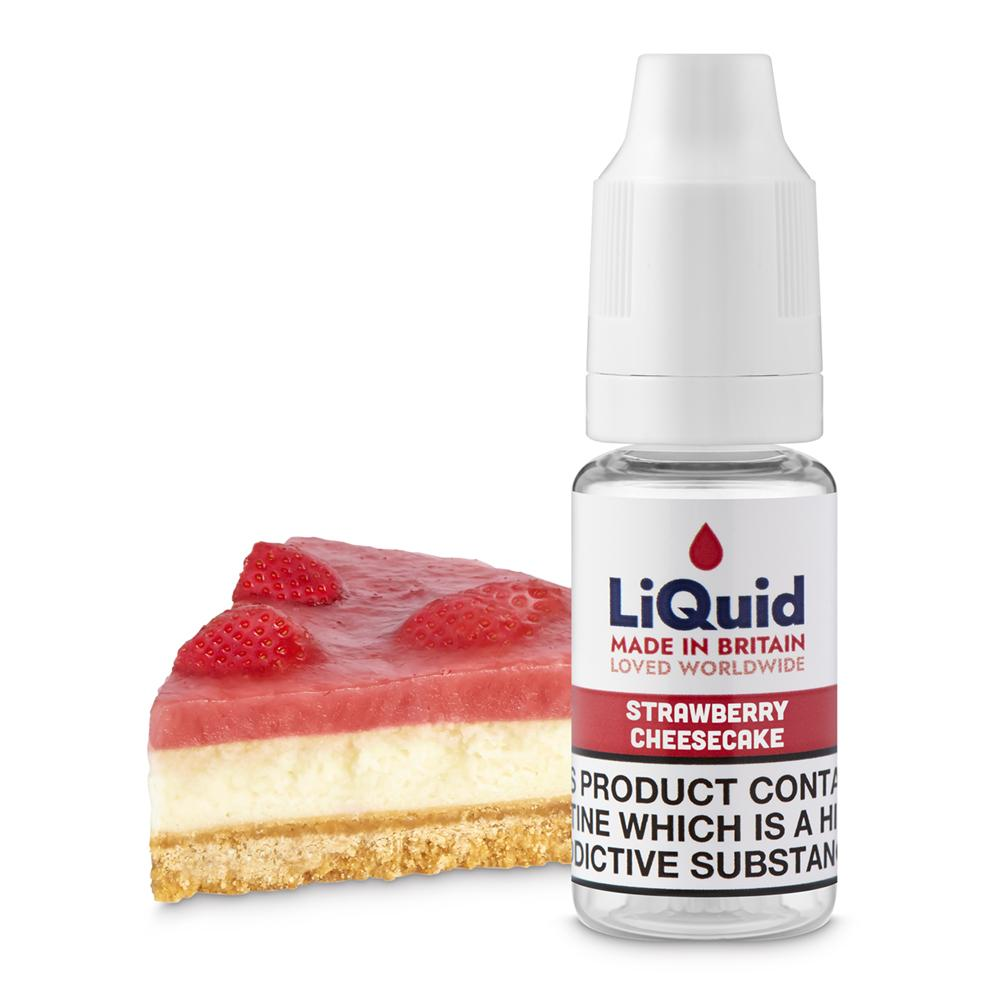 Strawberry Cheesecake E-Liquid onepoundeliquid