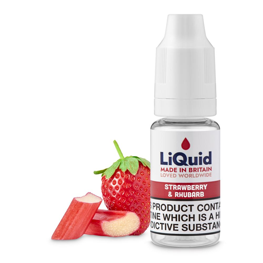 Strawberry & Rhubarb E-Liquid onepoundeliquid