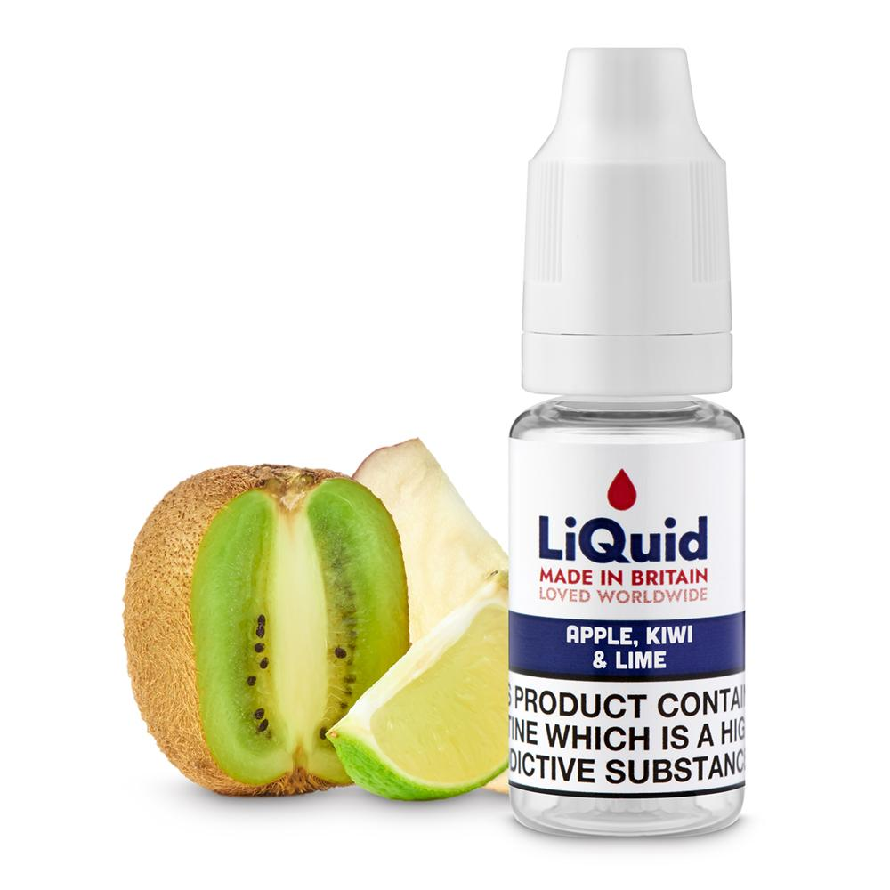 Apple, Kiwi & Lime HVG E-Liquid onepoundeliquid