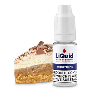Banoffee Pie HVG E-Liquid onepoundeliquid