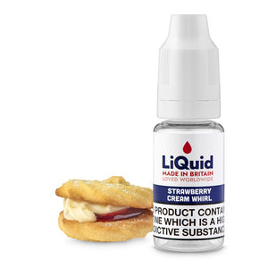 Strawberry Cream Whirl HVG E-Liquid onepoundeliquid