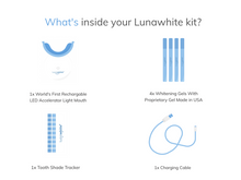 Load image into Gallery viewer, Lunawhite At-Home Teeth Whitening Kit