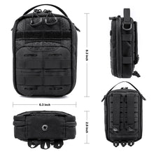 Load image into Gallery viewer, Tactical Compact Molle Pouch, Handmade Military EDC Utility Bag