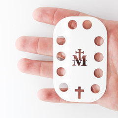 The Rosary Card
