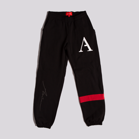 Script Sweatpants - Black