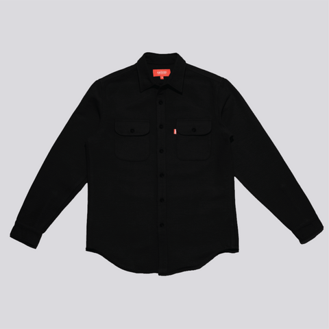 HEAVYWEIGHT BUTTON-UP SHIRT