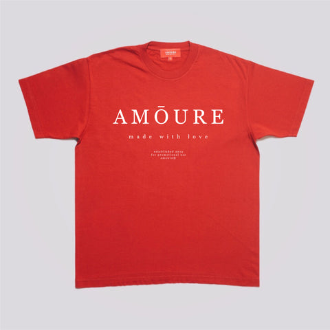 Classic Logo Tee - Red