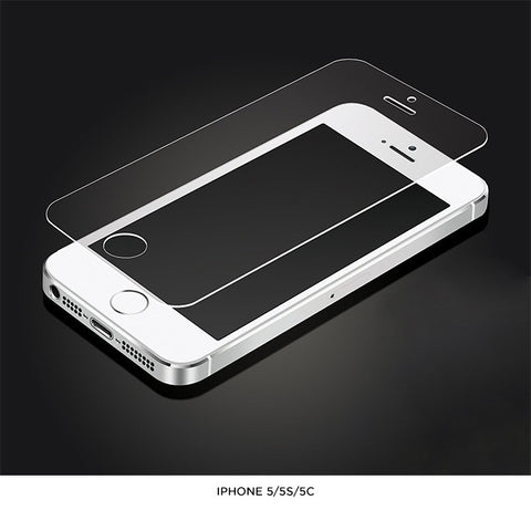 Vovoya iPhone 5/5s/5C 9H Hardness Anti Scratch HD Clear Screen Protector