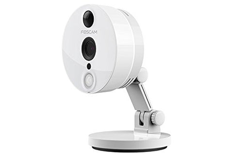 Foscam C2W Indoor 1080P FHD Wireless Plug and Play IP Camera - White