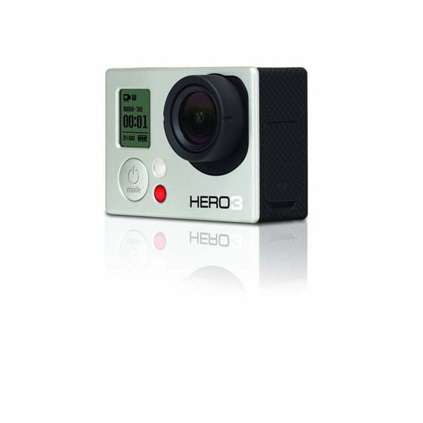 GoPro Hero3 5MP High Definition Camcorder With Built in Wi-Fi: White Edition