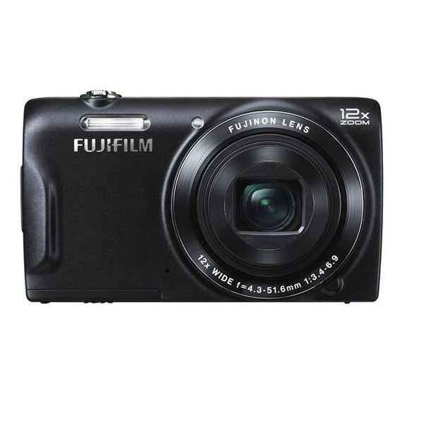 Fujifilm FinePix T500 16 MP Digital Camera with 12x Optical Zoom Lens (Black)