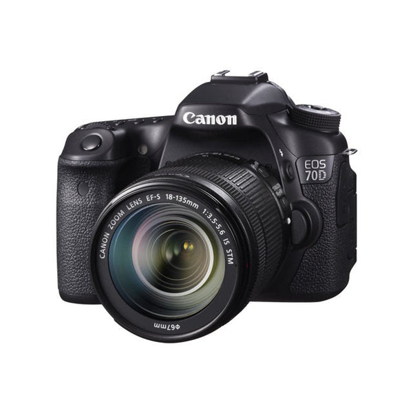 Canon EOS 70D 20.2MP Digital SLR Camera with 18-135mm STM Lens