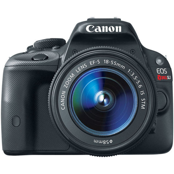 Canon EOS Rebel SL1 18.0 MP CMOS Digital SLR with 18-55mm STM Lens