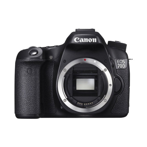 Canon EOS 70D 20.2MP APS-C CMOS Digital SLR Camera  (Body Only)