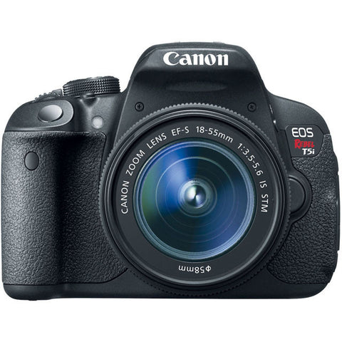 Canon EOS Rebel T5i 18.0 MP CMOS Digital SLR with 18-55mm STM Lens