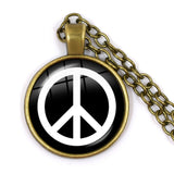 collier peace and love martika