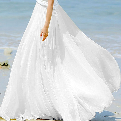 jupe blanche mariage chic