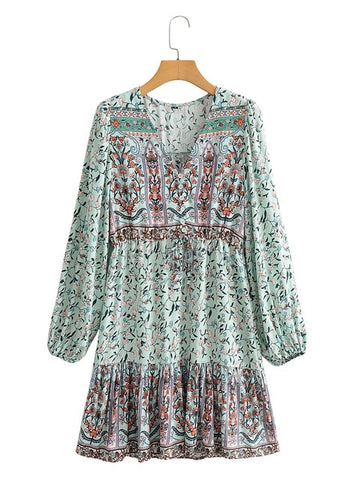 robe hippie chic