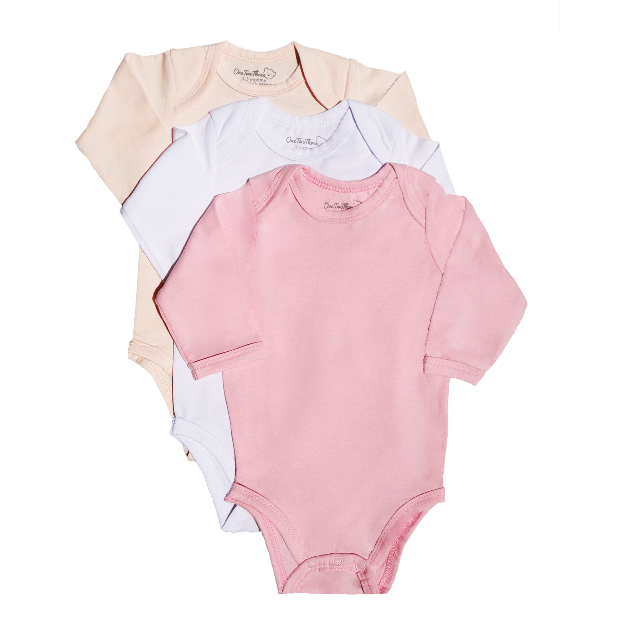 123 Bear Baby Soft Cotton Spandex Pants with Feet