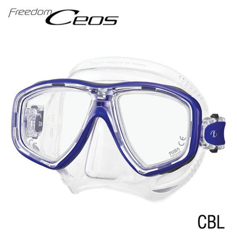 TUSA CEOS Freedom Mask Blue