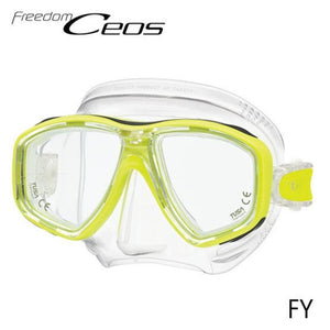 TUSA CEOS Freedom Mask Yellow