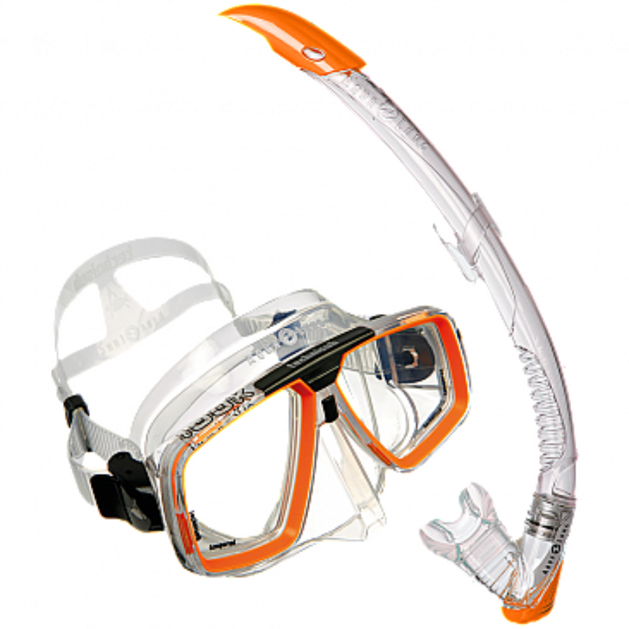 Aqualung LOOK Mask Set orange