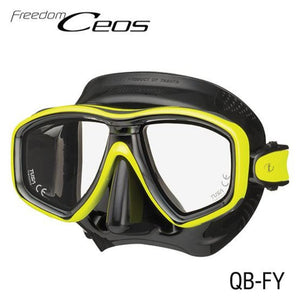 TUSA CEOS Freedom Mask Black/ Yellow