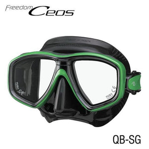 TUSA CEOS Freedom Mask Black/ Green
