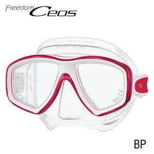 TUSA CEOS Freedom Mask Red
