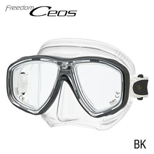 TUSA CEOS Freedom Mask Clear