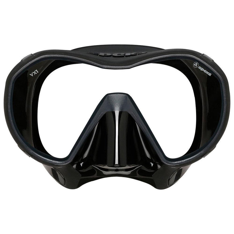 Apeks VX1 Mask - Black Front