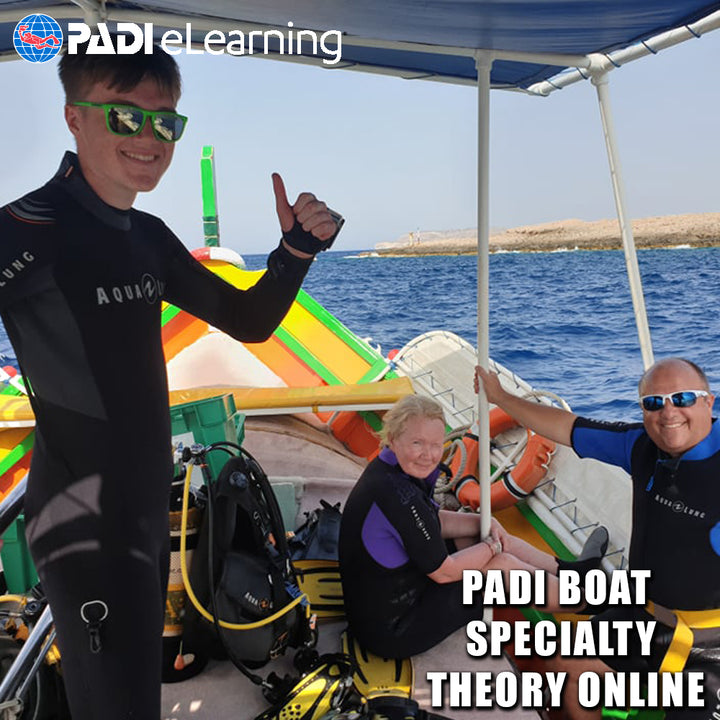 PADI Boat Specialty Theory Online