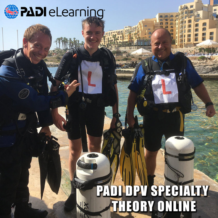PADI DPV Specialty Theory Online