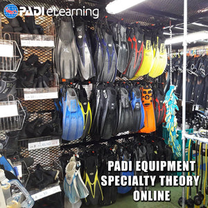 PADI Equipment Specialty Theory Online