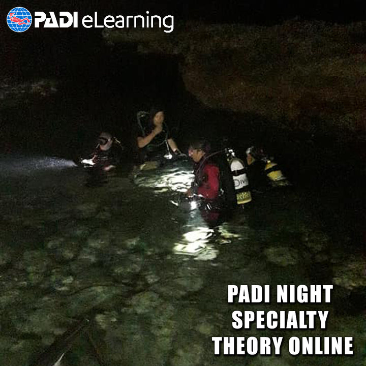PADI Night Diver Theory Online