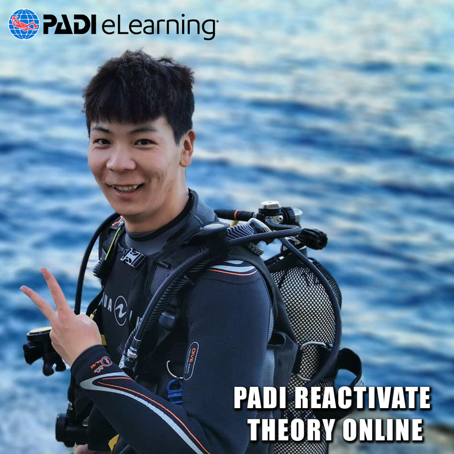 PADI ReActivate Scuba Refresher Theory Online