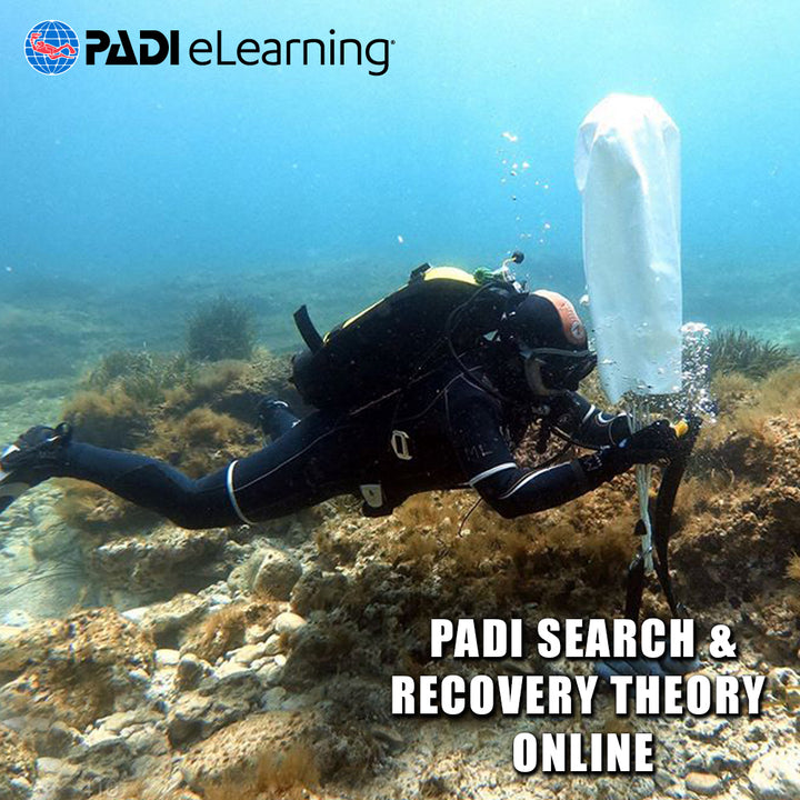PADI Search & Recovery Theory Online