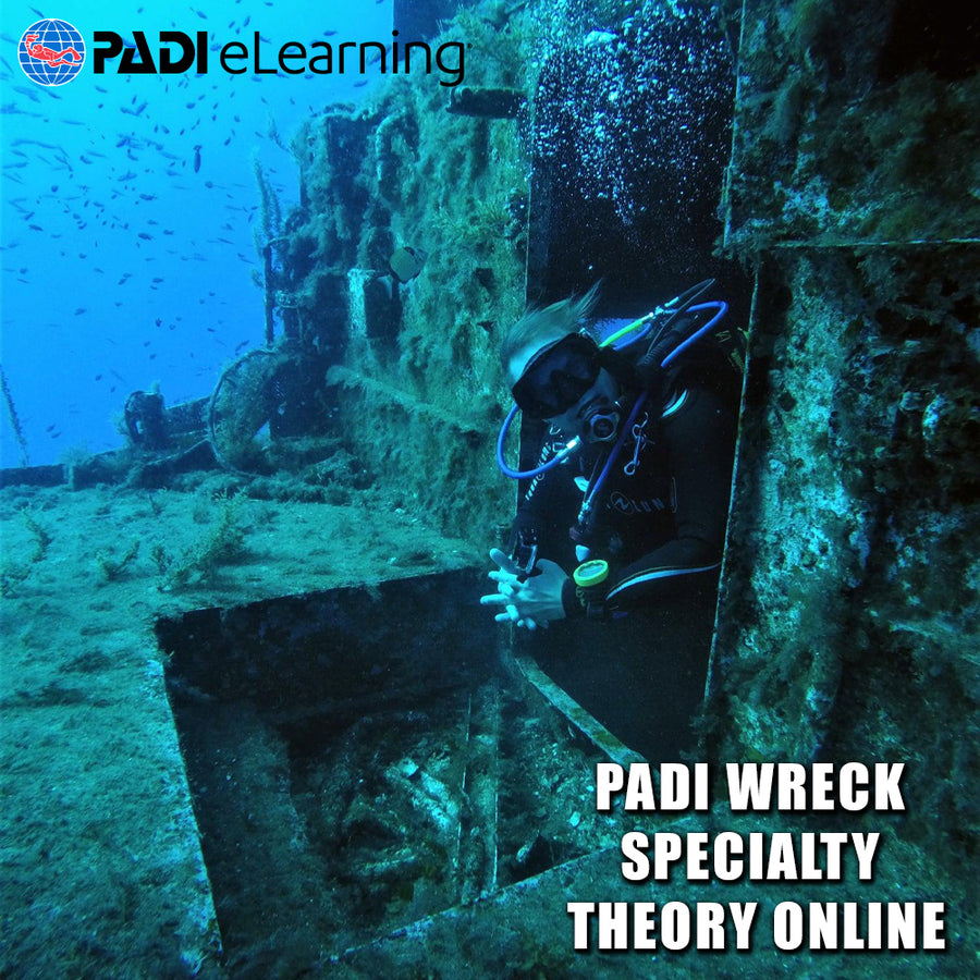 PADI Wreck Specialty Theory Online