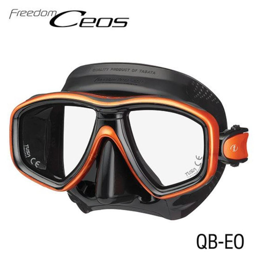 TUSA CEOS Freedom Mask Black/ Orange