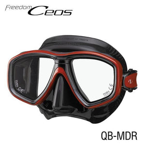 TUSA CEOS Freedom Mask Black/ Red