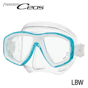 TUSA CEOS Freedom Mask Aqua
