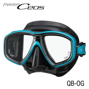 TUSA CEOS Freedom Mask Black/ Turquoise