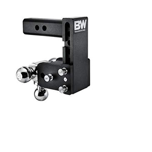 "B&W Tow & Stow - Fits 2"" Receiver, Tri-Ball (1-7/8"" x 2"" x 2-5/16""), 5"" Drop, 10,000 GTW"