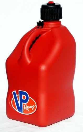 VP Racing Fuels Motorsport 5 Gallon Square Plastic Utility Jug Red