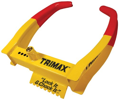 Trimax TCL65 Wheel Chock Lock 7.25in