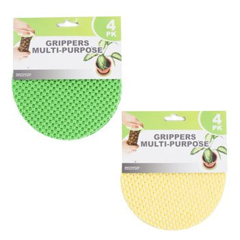 Regent Round Multi-Purpose Jar Gripper Pad Bottle Lid Opener, 4 Piece